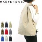 マスターアンドコー バッグ MASTER&Co. トートバッグ CHINO チノ B4 大きめ マスター&コー MC080 ユニセックス