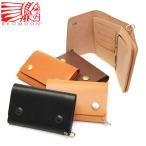 レッドムーン 財布 REDMOON 二つ折り 二つ折り財布 三つ折り MID LINE ショートウォレット 本革 メンズ TW01-MID