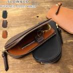 SLOW スロウ キーケース 本革 ファスナー zip key case DOUBLE OIL ダブルオイル レザー 栃木レザー メンズ レディース S0611D