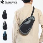 スノーピーク バッグ ボディバッグ snow peak Side Attack Bag サイドアタックバッグ ワンショルダーバッグ 斜めがけ 軽量 旅行 メンズ レディース UG-747