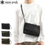 スノーピーク サコッシュ snow peak Everyday Use Sacoche ショルダーバッグ 斜めがけ A5 2L 軽量 メンズ レディース AC-21AU417