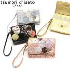最大21%獲得 ツモリチサト 財布 tsumori chisato CARRY 新マルチドット マルチケース 二つ折り パスケース 小銭入れ ドット 猫 レディース 57096