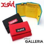 エックスガール 財布 X-girl 三つ折り財布 レディース ブランド EASY WALLET イージーウォレット 05182013