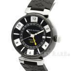 ルイヴィトン タンブール イン ブラック オートマティック GMT  Q113I0 LOUIS VUITTON ヴィトン 腕時計
