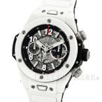 [半期決算]ウブロ ビッグバン ウニコ ホワイトセラミック ブレスレット 411.HX.1170.HX HUBLOT 腕時計【時計】