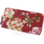 グッチ 長財布 ジップ アラウンド ウォレット 410102 GUCCI 財布 花柄 ブルームス