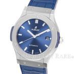 ウブロ クラシック フュージョン チタニウム ブルー 511.NX.7170.LR HUBLOT 腕時計