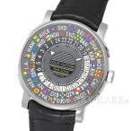ショッピングヴィトン ルイヴィトン エスカル オートマティック タイムゾーン グレー文字盤 Q5D200 LOUIS VUITTON ヴィトン 腕時計