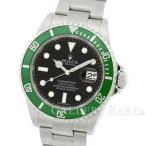 ショッピングロレックス ロレックス サブマリーナ デイト グリーンベゼル M番 16610LV ROLEX 腕時計