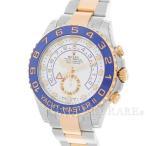 ロレックス ヨットマスター2 ルーレット ランダムシリアル 116681 ROLEX 腕時計