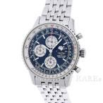 ブライトリング ナビタイマー オリンパス ムーンフェイズ ブルー SS A190B52NP BREITLING 腕時計