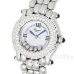 ショパール ハッピースポーツ ダイヤベゼル 5Pダイヤ 27/8294-23 Chopard 腕時計 レディース