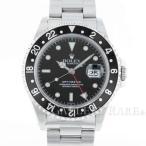 ショッピングロレックス ロレックス GMTマスター 黒ベゼル A番 16700 ROLEX 時計