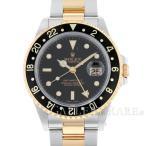 ロレックス GMTマスター2 P番 16713 ROLEX 腕時計 ウォッチ K18YGイエローゴールド コンビ