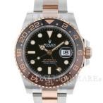 ロレックス GMTマスター2 デイト ランダムシリアル ルーレット 126711CHNR ROLEX 腕時計 エバーローズゴールド
