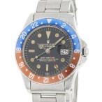 ロレックス GMTマスター 1675 レッド ブルーベゼル 8番 ROLEX 腕時計 ダブルスイス アンダーライン アンティーク