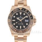 ロレックス GMTマスター2 デイト ランダムシリアル ルーレット 126715CHNR ROLEX 腕時計 エバーローズゴールド