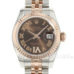 ロレックス デイトジャスト 26 VIダイヤ SS×K18PGピンクゴールド ランダムシリアル 179171 ROLEX 腕時計 レディース