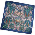 エルメス スカーフ カレ140 動物の楽園 La Charmante aux Animaux HERMES ショール カシミヤ シルク