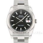 ロレックス デイトジャスト 116234 Z番 ルーレット ROLEX 腕時計 ウォッチ メンズ 黒文字盤