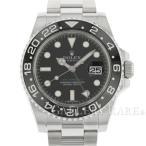ロレックス GMTマスター 2 デイト 黒ベゼル V番 ルーレット 116710LN ROLEX 腕時計 ウォッチ スティックダイヤル