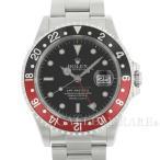ロレックス GMTマスター2 デイト A番 16710 ROLEX 腕時計 赤黒ベゼル リアルマッコイズ チャックイエーガー 2nd