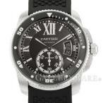 カルティエ カリブル ドゥ カルティエ ダイバー W7100056 Cartier 腕時計 ウォッチ 黒文字盤 安心保証