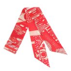 エルメス スカーフ ツイリー アニマポリス Animapolis HERMES 2019年秋冬コレクション シルクスカーフ
