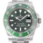 ロレックス サブマリーナ グリーン デイト ランダムシリアル ルーレット 116610LV ROLEX 腕時計 ウォッチ 安心保証