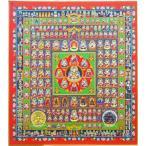 『胎蔵界曼荼羅』 複製画色紙(アートプリント)
