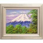 西村拡人 『富士山』 油絵・油彩 F6(6号)
