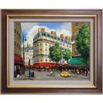 斉藤要 『パリの街角』 2 油絵・油彩画 F6(6号)
