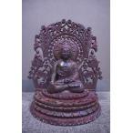 最高級 ルビー彫刻品 仏像