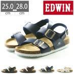 EDWIN コンフォートサンダル EB1002 プレゼント フットベットサンダル 25 26 27 28 フットプレイス  【旅靴】
