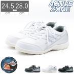 安全靴 メンズ スニーカー セーフティースニーカー シューズ レースアップ 幅広 3E マジックテープ ベルクロ アクティブゾーン ACTIVE ZONE 鋼鉄先芯入り