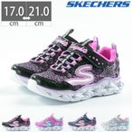 キッズ スニーカー シューズ 靴 光る靴 スケッチャーズ SKECHERS GALAXY LIGHTS 10920L 正規品 ベルクロ LED マジックテープ