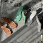 クリアサンダル レディース クリアベルト クリアヒール スクエアヒール 小さいサイズ 大きいサイズ クッションソール 靴 シューズ 2021春
