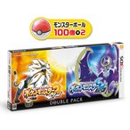 【即日出荷】[注意 定価以上での販売となります]  3DS ポケットモンスター サン/ムーン ダブルパック  ポケモン   020778