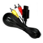 (DM便可)【新品】ステレオAVケーブル スーパーファミコン スーファミ ケーブル ゲームキューブ ニンテンドー64 N64 ニューファミコン 対応