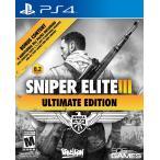 PS4ソフト Sniper Elite III Ultimate Edition 北米版 日本PS4で動作可