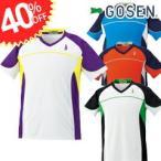 【40%OFF】【GOSEN(ゴーセン)】[T1504]ゲームシャツ (ユニ)(バドミントン/専門店/スポーツ用品/スポーツ/バドミントンウェア/バドミントンウエア/ウェア