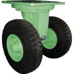 佐野車輌 超重量級キャスター ダブル自在車 荷重3600kgタイプ 284-4 1個【代引不可】【別途運賃必要なためご連絡いたします。】