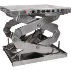 (株)スギヤス  ビシャモン ステンテーブルリフト 2X1000607AB-HL  1台【代引不可】【別途運賃必要なためご連絡いたします。】