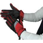 おたふく手袋(株) おたふく ホットエースプロライト(リフレクタータイプ) レッド×ブラック M HA-328-RB-M 1双【758-2188】