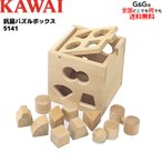 KAWAI カワイ 抗菌パズルボックス 5141 知育玩具 おもちゃ 木製 パズル
