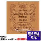 【1パック】お得!! 計3セット入 ARIA アコギ弦 AGS-203L 3セットパック Light 12-53