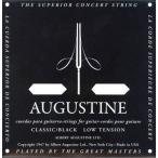 AUGUSTINE(オーガスチン) 「BLACK 6弦単品×12本セット」 定番クラシックギター弦ブランド 【送料無料】