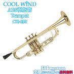 【送料無料】クールウインド ABS樹脂製 トランペット ゴールド Cool Wind CTR-200 GOLD TRAMPET マウスピース ソフトケース付