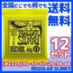 ERNIE BALL(アーニーボール) #2221×12セット REGULAR SLINKY[10-46]/ 定番エレキギター弦(セット弦)/ スリンキーシリーズ・レギュラースリンキー