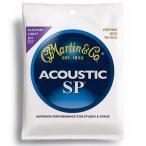 【送料無料】MARTIN(マーチン弦) 「MSP3050×1セット」カスタムライト・ゲージ  SP 80/20 Bronze Custom Light Acoustic Guitar/MSP-3050